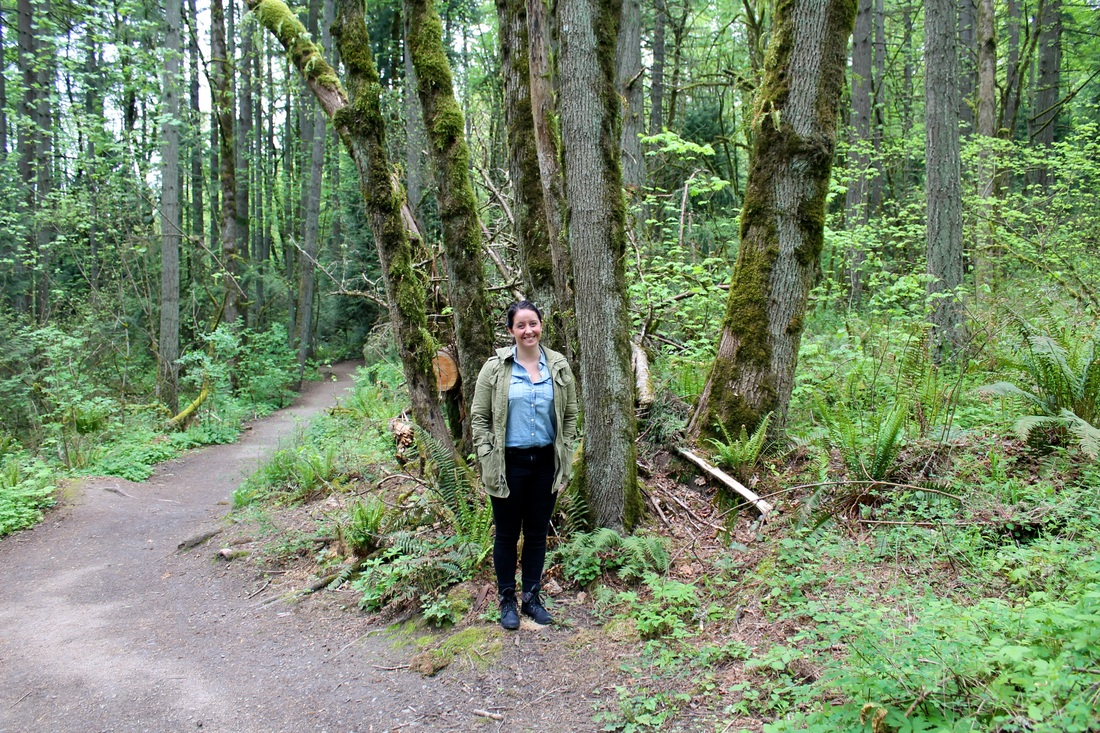 Spring Nature Adventure outfit // Portland, OR | Yellow Mondays