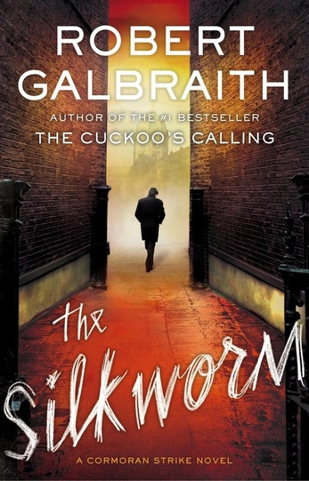 The Silkworm by Robert Galbraith // book review | Yellow Mondays